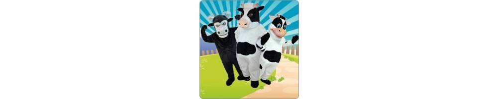Cow & Bull Costumes from Plush for your promotion Event Fair Mascot
