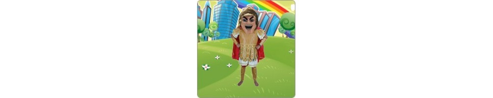 Knights & Romans costumes plush for your promotion exhibition event ma