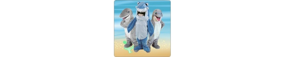 Plush Dolphin & Hai Costumes for your promotion Fair Event Mascot