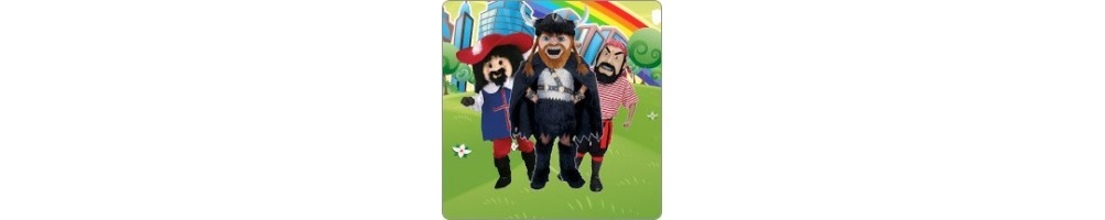 Vikings & Musketeers & Pirate Costumes Plush promotion Messe Event Mas