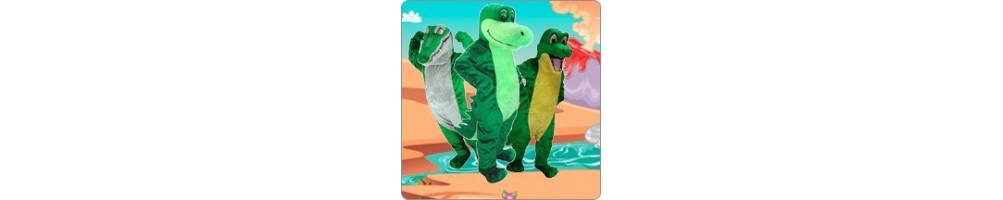 Crocodile and Alligator Costumes Mascot Running Figures Promotion Even