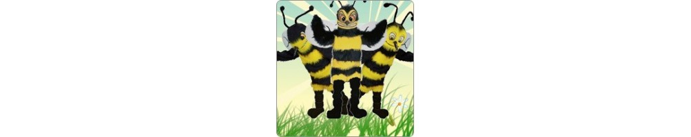 Hornets & Wasps Costumes Mascot Running Figures Promotion Event Produc
