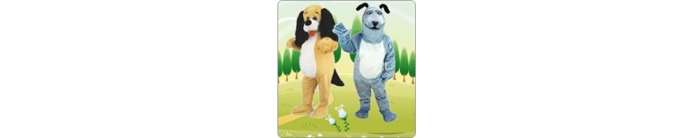 Dog (Mix) Costumes Mascot Running Figures Promotion Event Production C