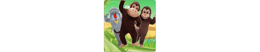 Monkey costume mascot - buy cheap production manufacture construction