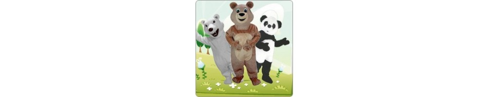 Bear mascot costumes manufacturing company Professional construction b
