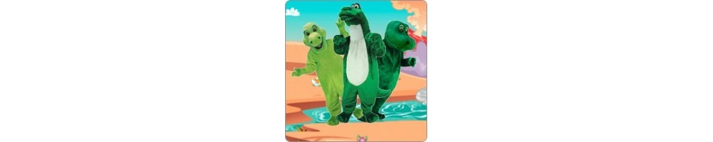 Dinosaur Costumes Mascot Running Figures Promotion Event Fair Show