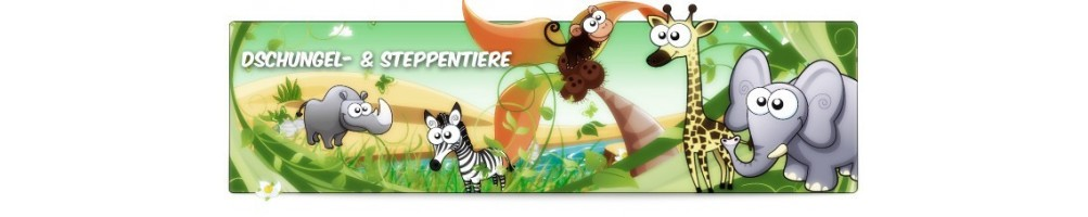 Jungle & Quilting Animals Costumes Mascots Running Figures Promotion