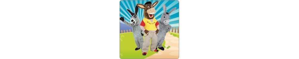 Plush donkey costumes for your promotion Event Fair Mascot